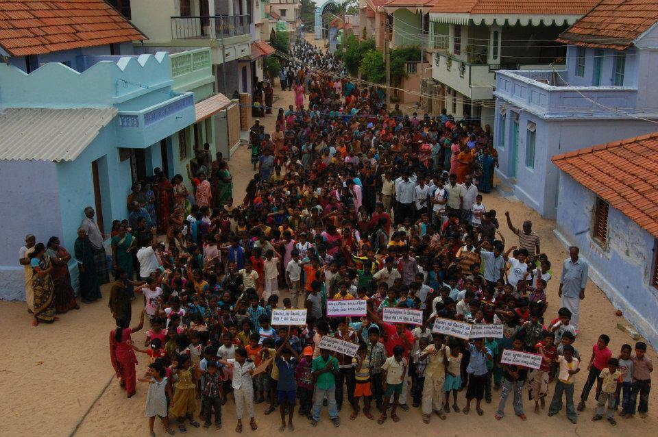 ১৪ মে ২০১৩ কুত্তাপুলি-তে সুপ্রিম কোর্টের রায়ের বিরুদ্ধে জনবিক্ষোভ