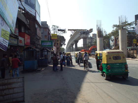 বেহালা চৌরাস্তার ২৬ জানুয়ারি ২০১৪-র সকাল।