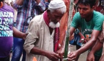 আটষট্টি বছর পর মশালডাঙা ছিটমহলে প্রথম স্বাধীনতা দিবস পালন