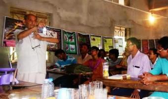 পাতি উপকরণ সহযোগে 'হাতে কলমে বিজ্ঞান' কর্মশালা রাধানগরের স্কুলে