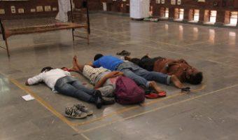 রোহিত ভেমুলার বিশ্ববিদ্যালয়ের তিন ছাত্রছাত্রীর রাজনৈতিক সৃজন — 'প্রতিবাদী ঘুম'